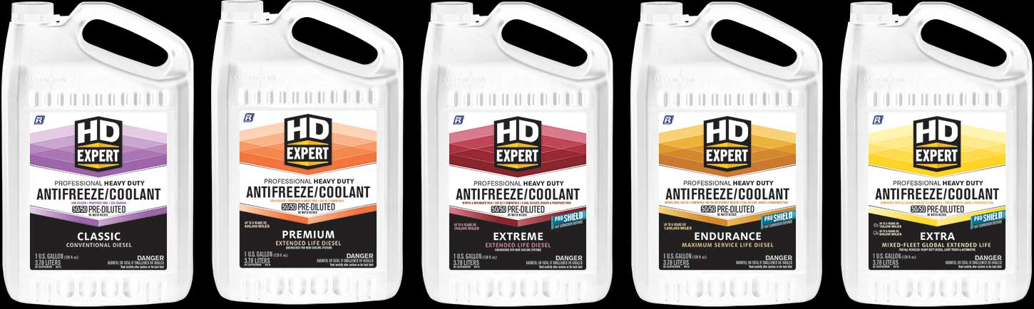 We're the HD Coolant Experts